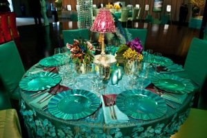 The Hollywood inspiration tablescape -- we can do better than this!